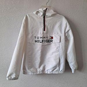 White Tommy Hilfiger Jacket